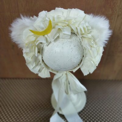 moon bear tattered bonnet