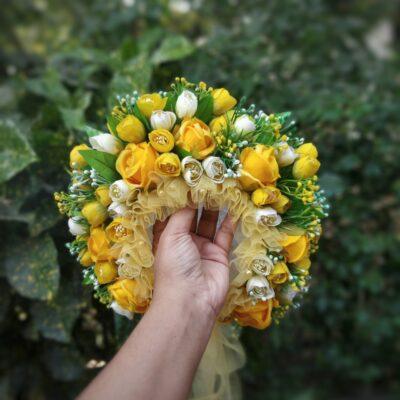 Summer Plateau floral bonnet